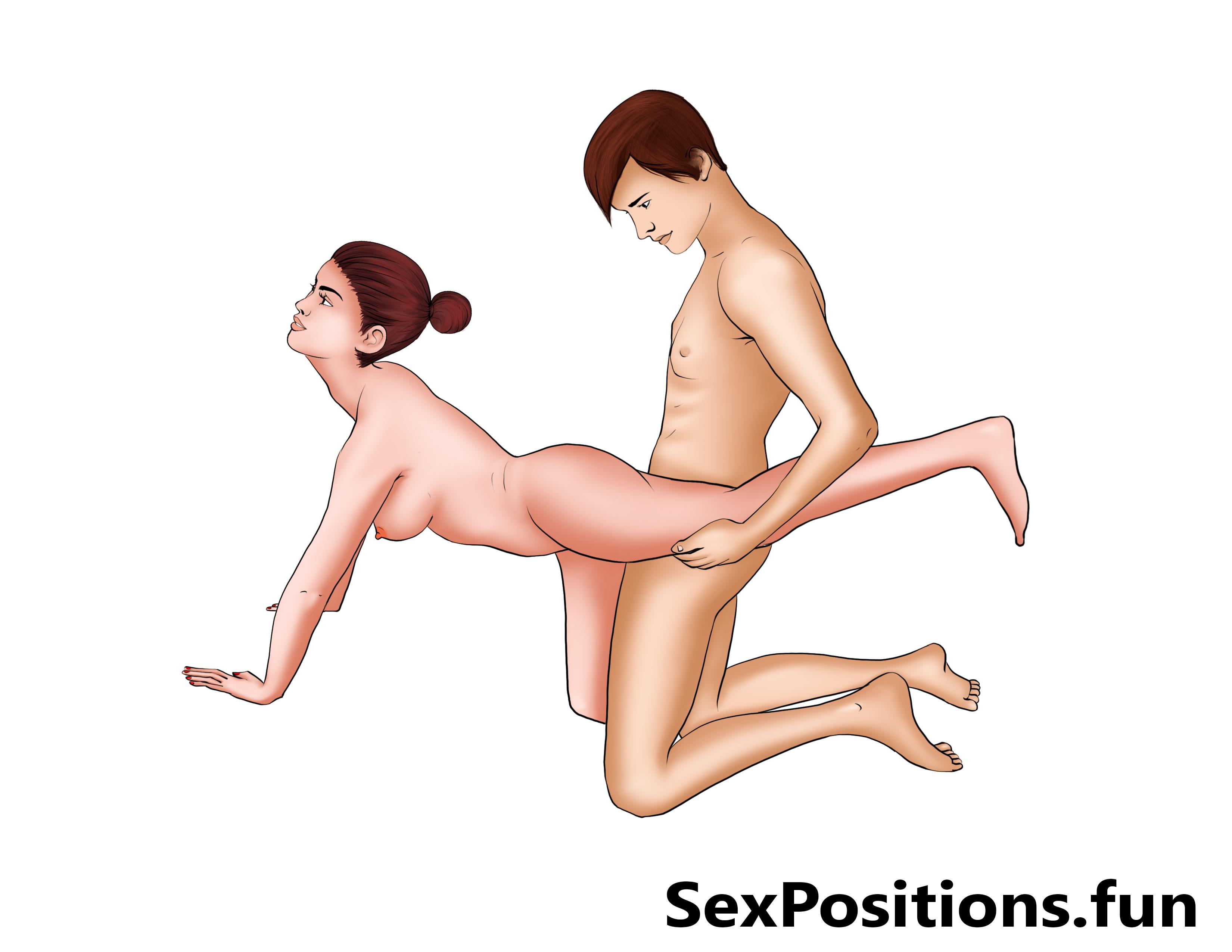 Kneeling Wheelbarrow Sex Position